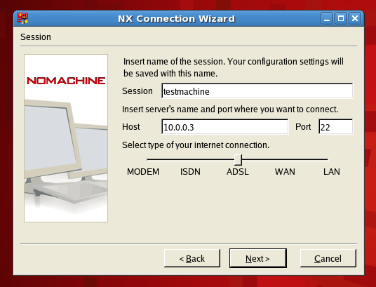 NX Connection Wizard